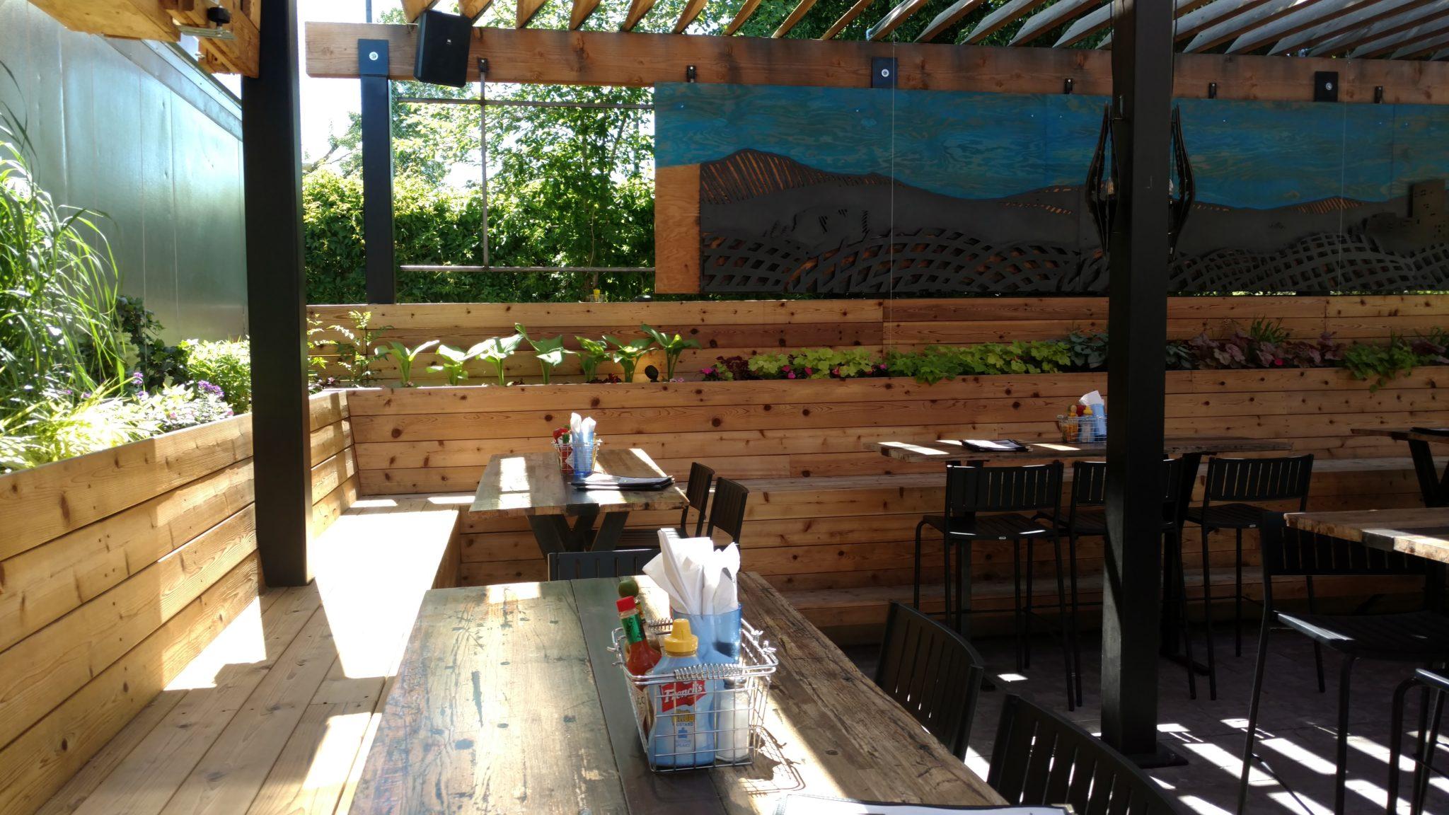 Beer Garden Landscape Design